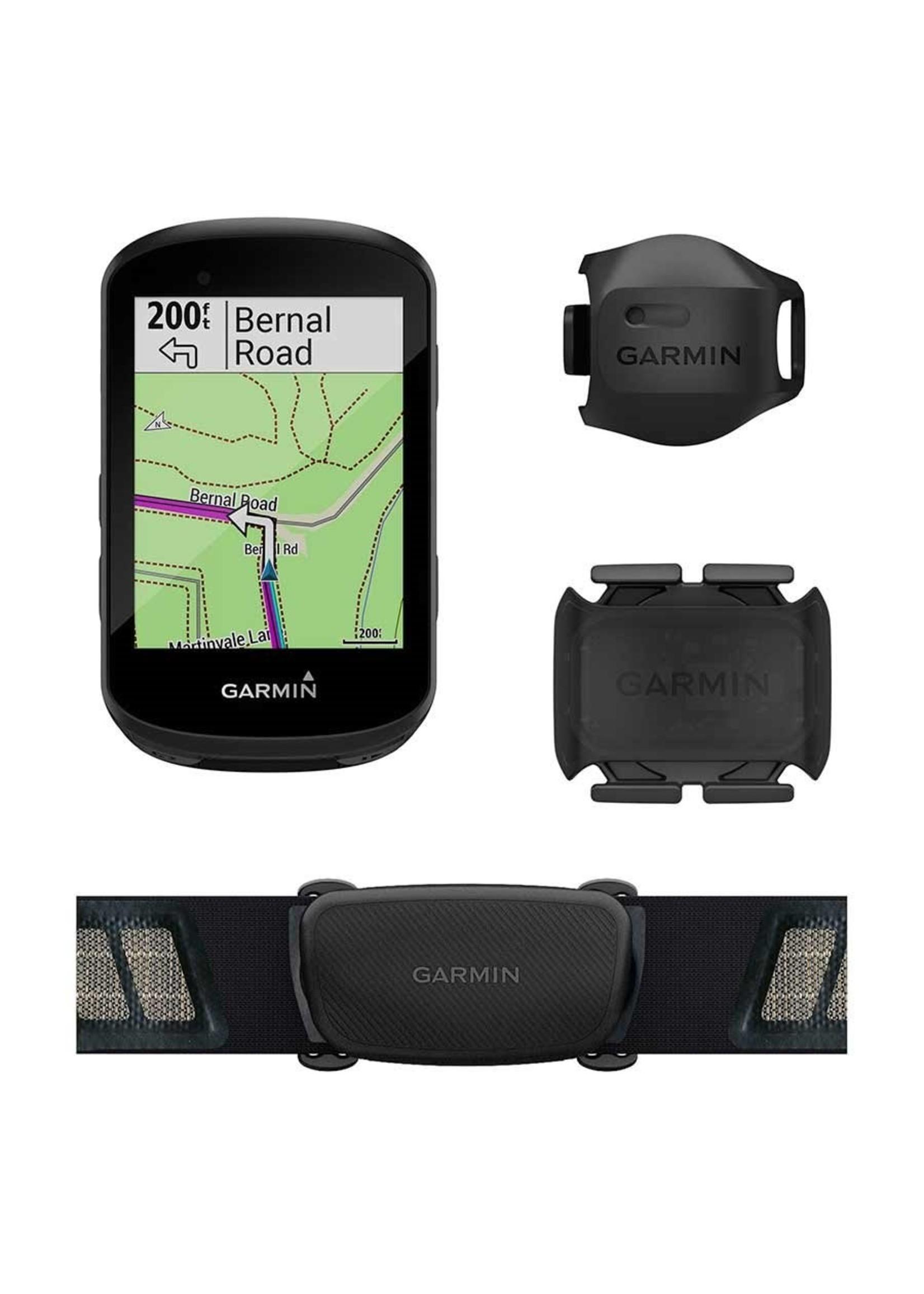 Garmin Garmin, Edge 530, Cyclometre, GPS: Oui, Cardio: Oui (Poitrine), Cadence: Oui, Noir, 010-02060-10