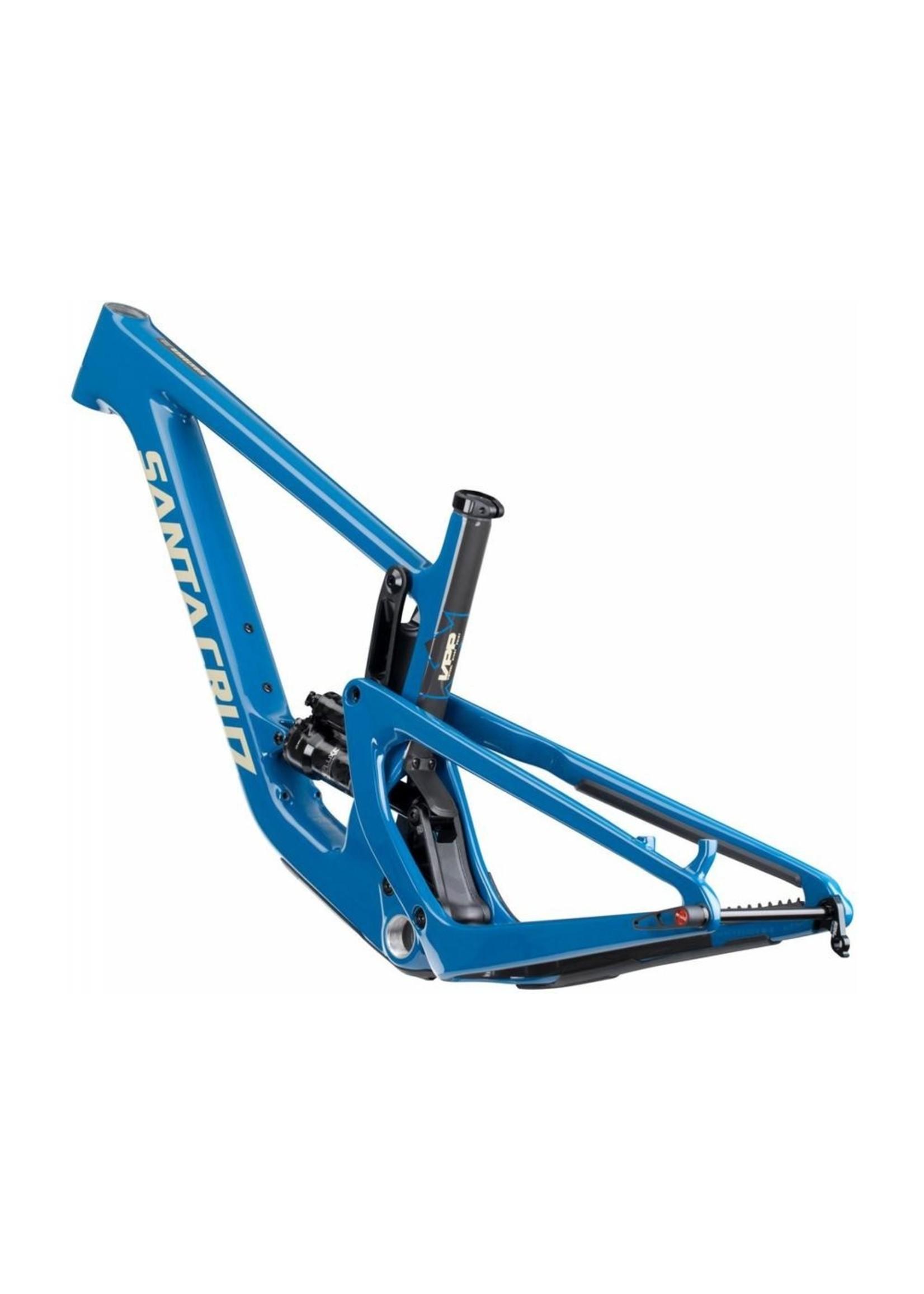 Santa Cruz Bicycles 2020 Santa Cruz Hightower CC, Frameset, Small, Bleu, Rock Shox SuperDeluxe Ultimate