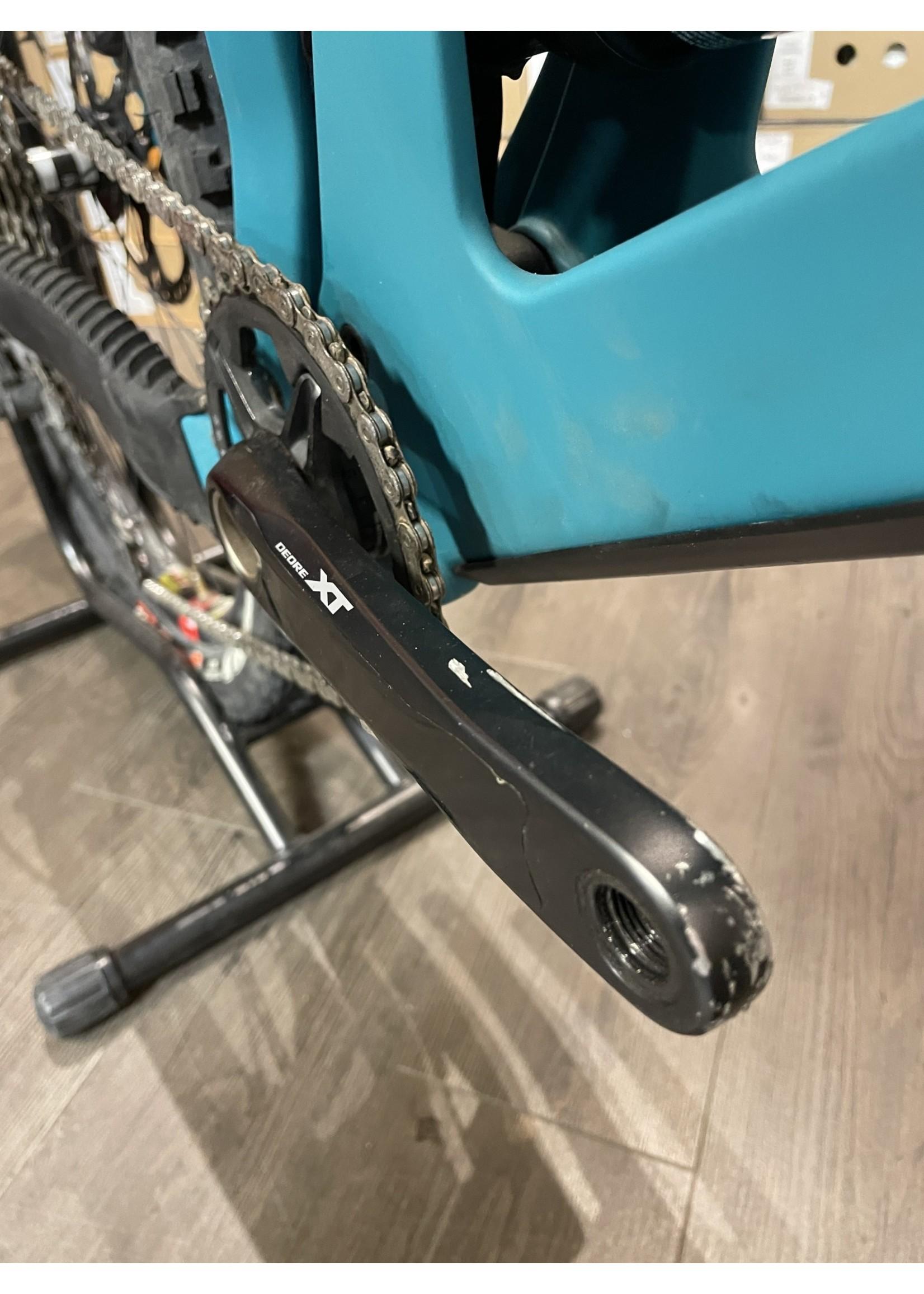 Santa Cruz Bicycles 2021 DEMO Santa Cruz 5010 C, XT-RSV, Blue, Large