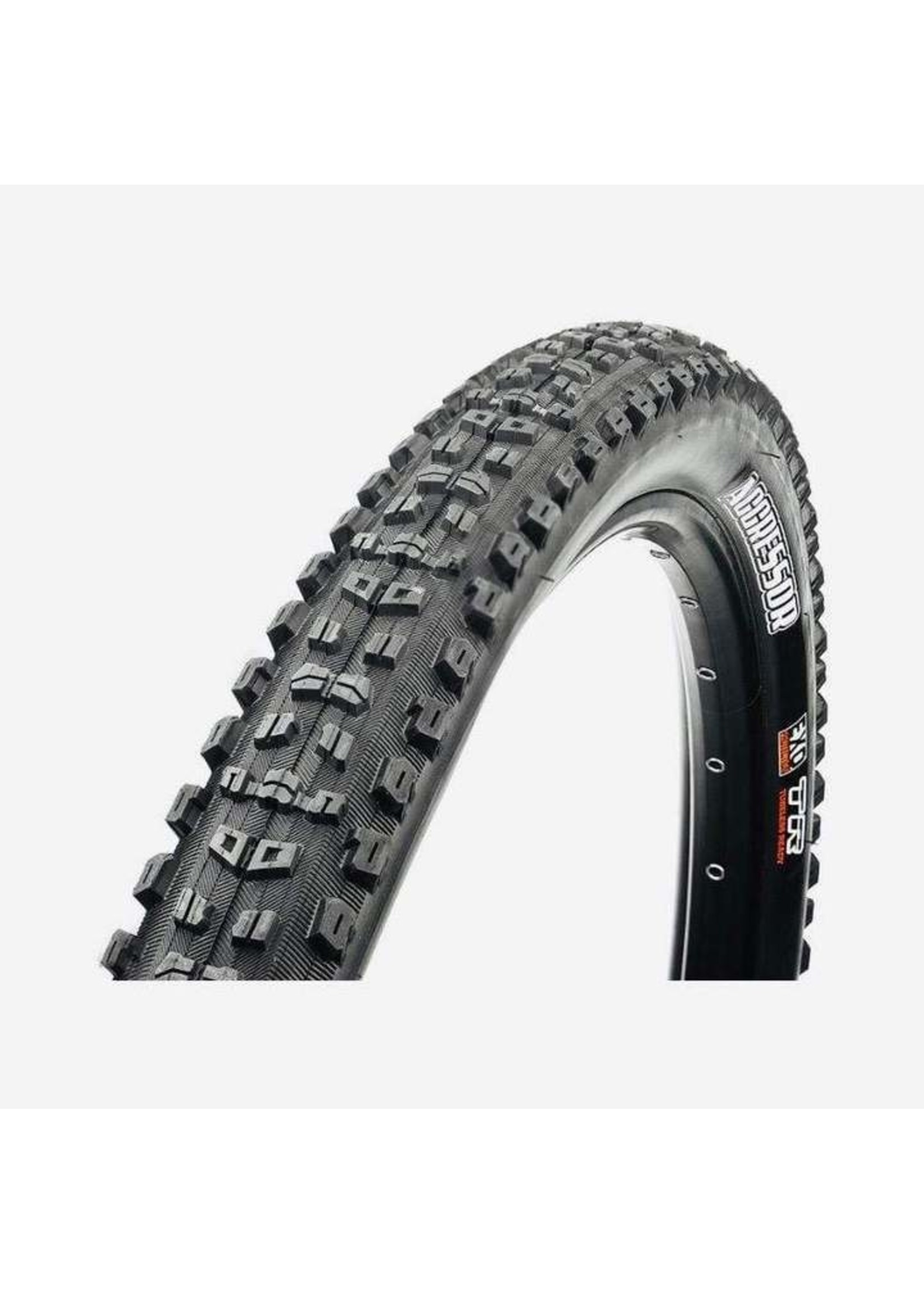 Maxxis Maxxis, Aggressor, Tire, 29''x2.50, Folding, Tubeless Ready, Dual, EXO, Wide Trail, 60TPI, Black