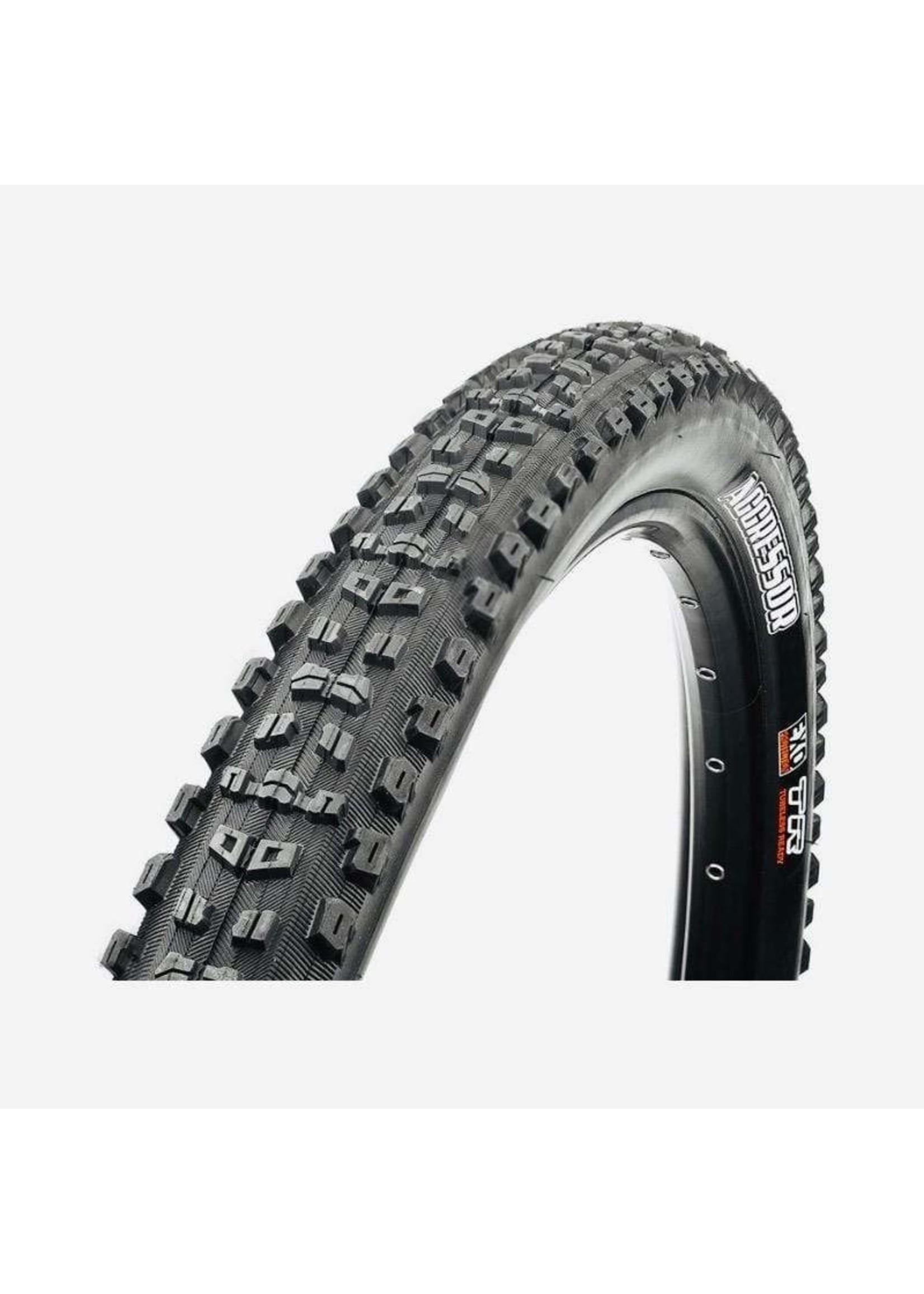Maxxis Maxxis, Aggressor, Tire, 29''x2.50, Folding, Tubeless Ready, Dual, Double Down, 120x2TPI, Black