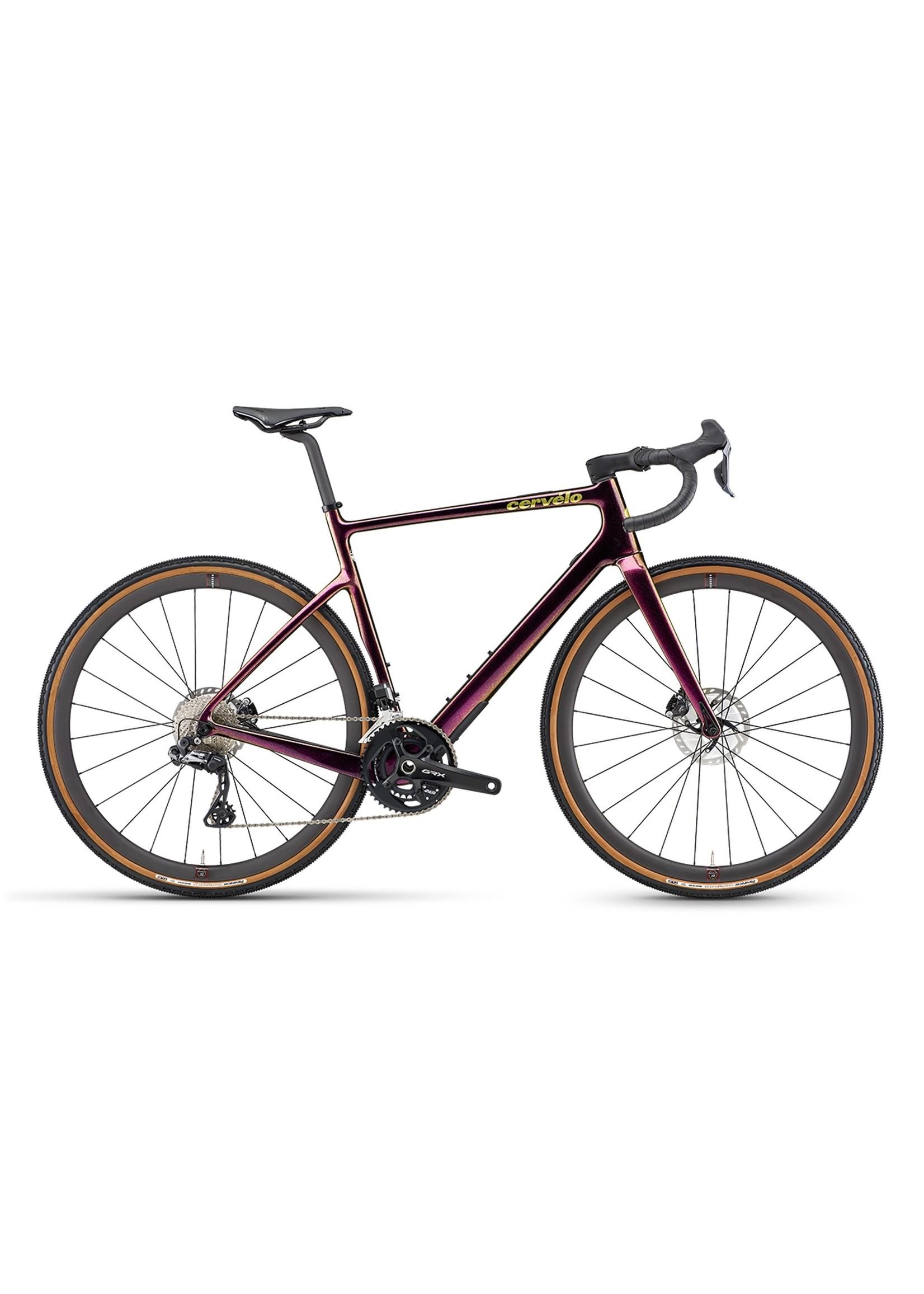 Cervelo Cycles Cervélo Aspéro-5 GRX815 Di2 Purple Sunset