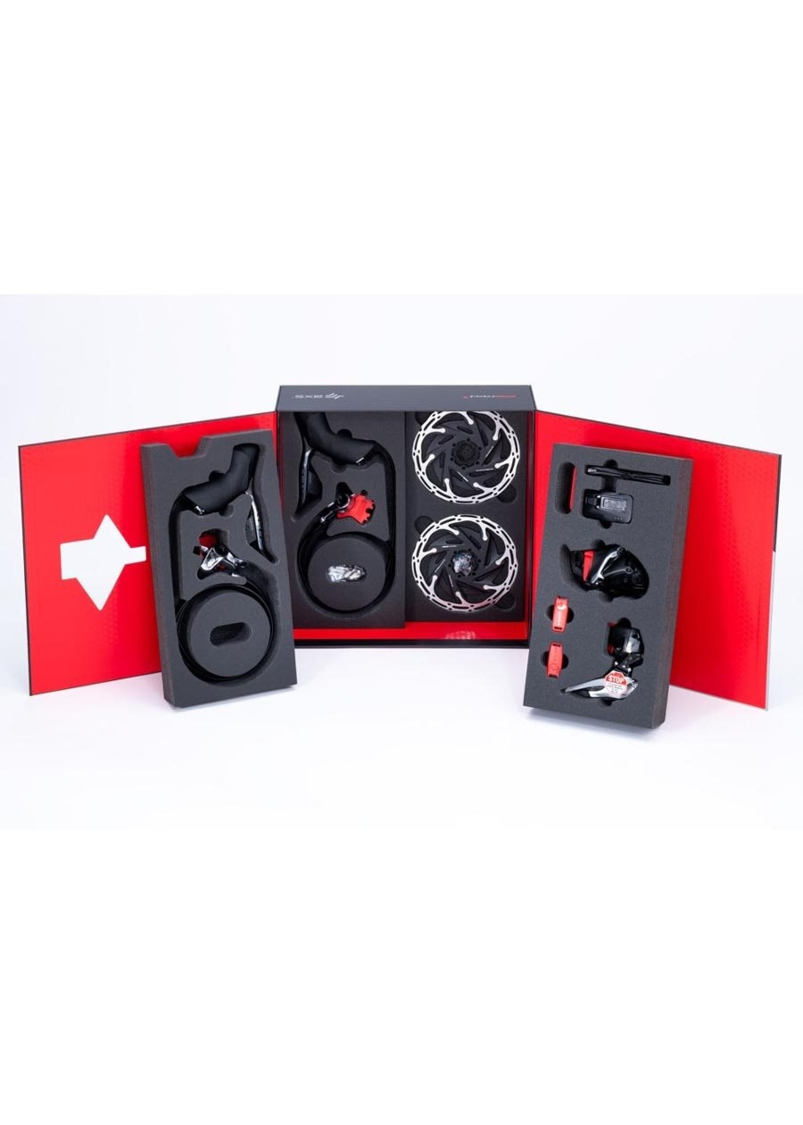 Sram SRAM, Red eTap AXS HRD, Build Kit, 2x, Hydraulic Disc, Flat Mount, Centerlock, Kit