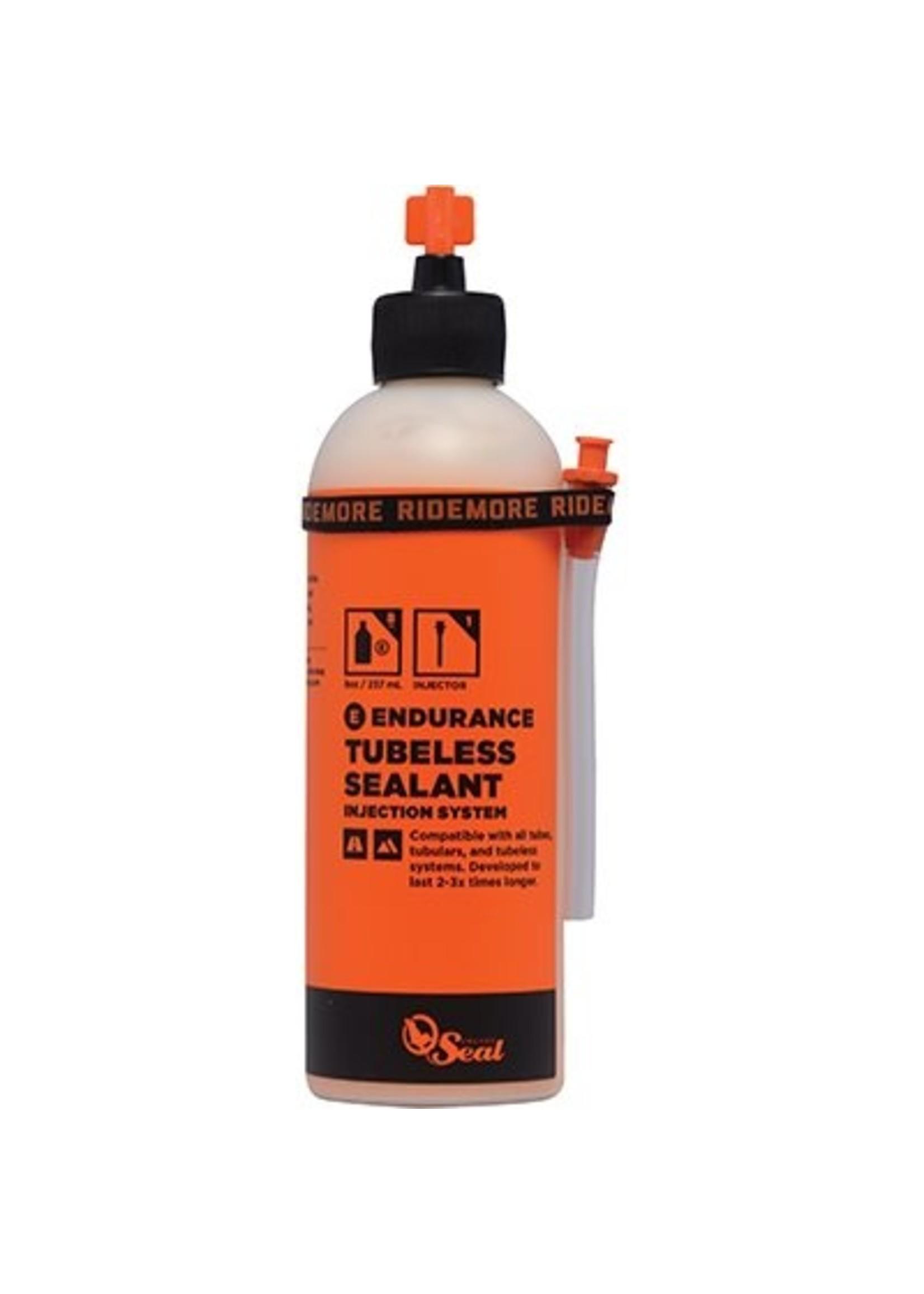 Scellant Endurance Orange Seal 8 oz avec buse d'injection