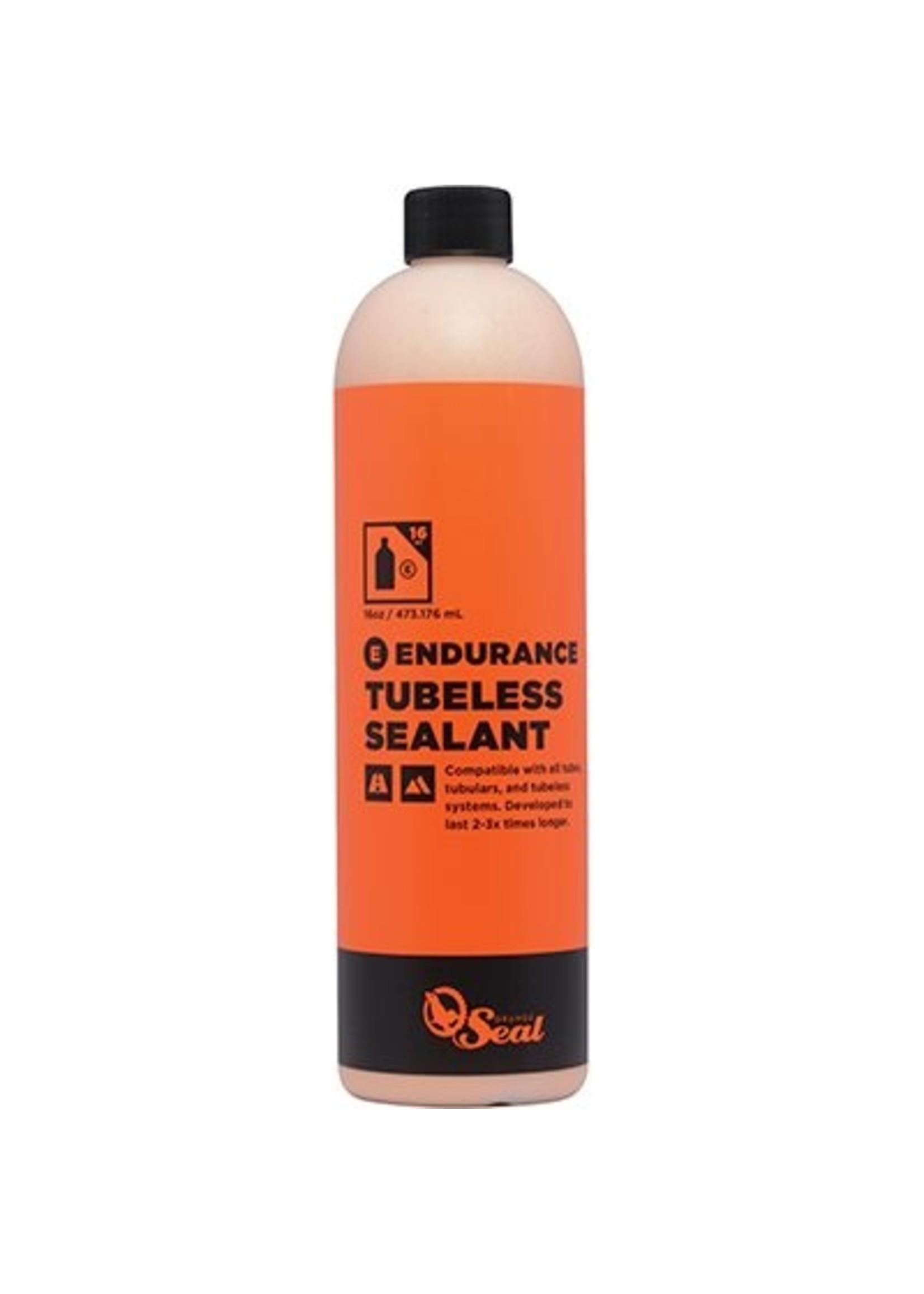 Scellant A pneu Endurance Orange Seal Cycling Recharge 16 oz/473 ml