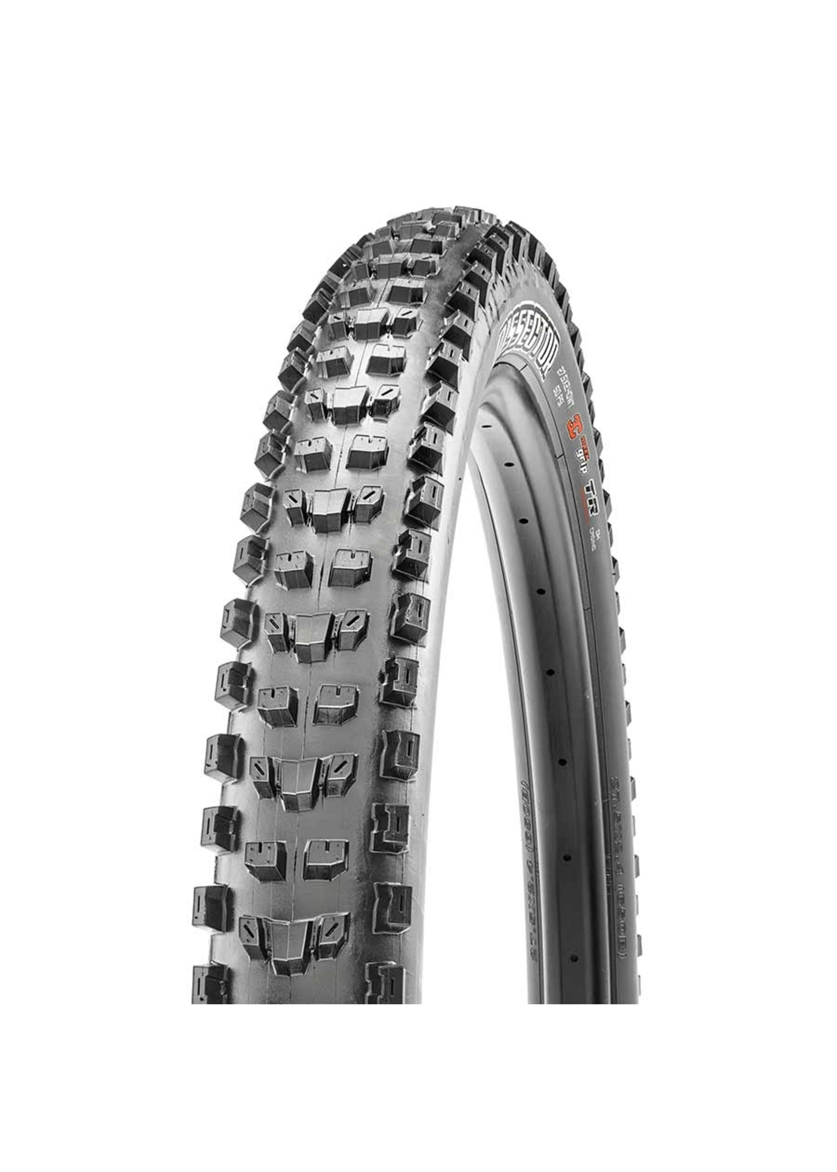 Maxxis Maxxis, Dissector, Tire, 27.5''x2.40, Folding, Tubeless Ready, 3C Maxx Grip, Double Down, Wide Trail, 120TPI, Black