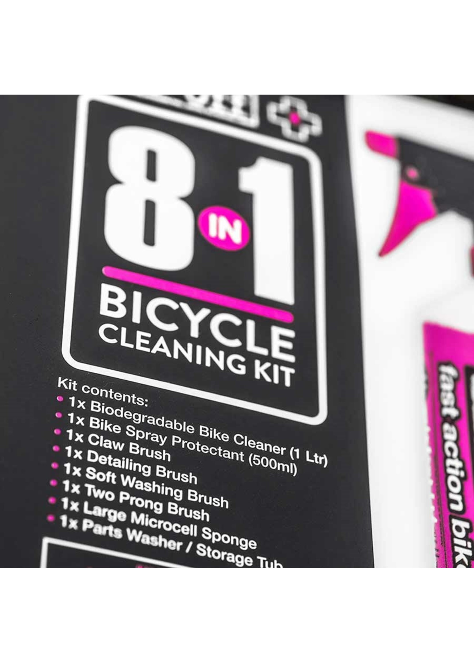 Muc-Off Muc-Off, 8-in-1 Bicycle Cleaning Kit