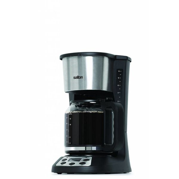 Salton 14 Cup Coffee Maker, Black