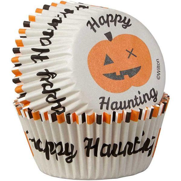 """Caissettes Standard en papier """"Happy Haunting"""" Wilton"""