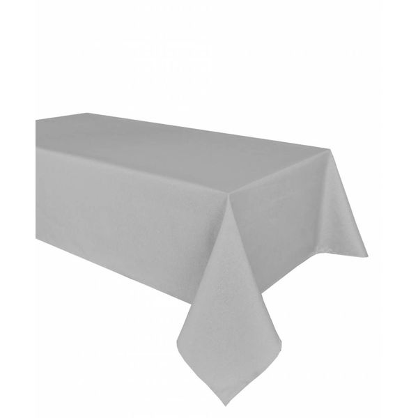 "TexStyles Deco Printed Tablecloth ""Shimmer Grey"" 60 x 108"""