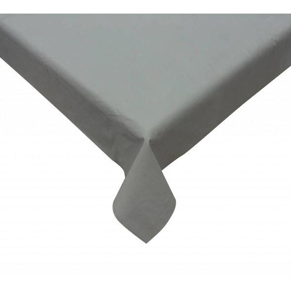"""Nappe vinyle ronde gris 60"""" de TexStyles Deco"""