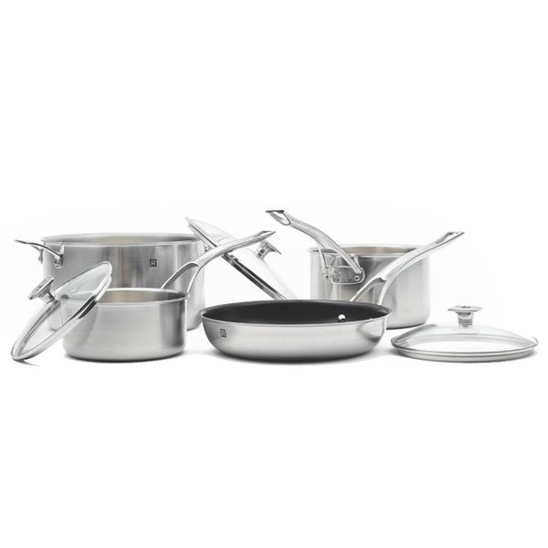 Ricardo 7-Piece Cookware Set Stainless Steel