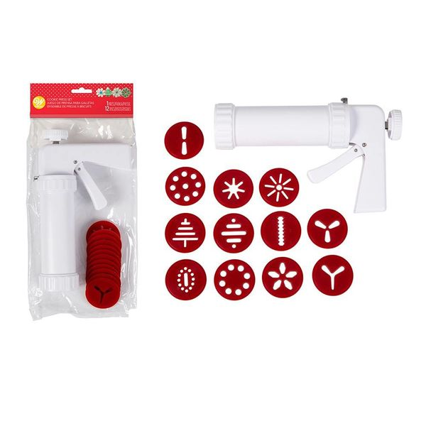 Wilton Christmas Cookie Press Kit