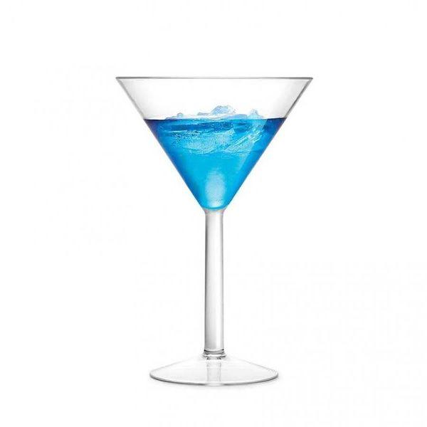 Ricardo Ensemble de 4 verres à martini résistants aux chocs