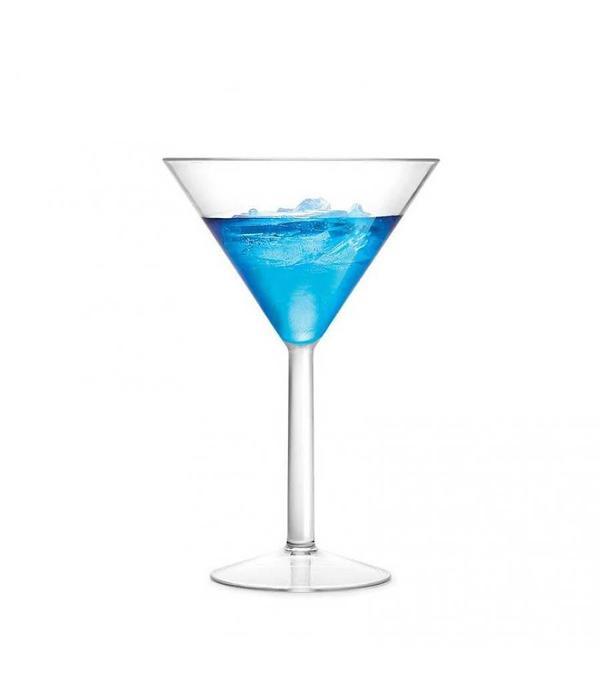 Ricardo Ricardo Set of 4 Shatter-resistant Martini Glasses
