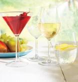 Ricardo Ricardo Ensemble de 4 verres à martini résistants aux chocs