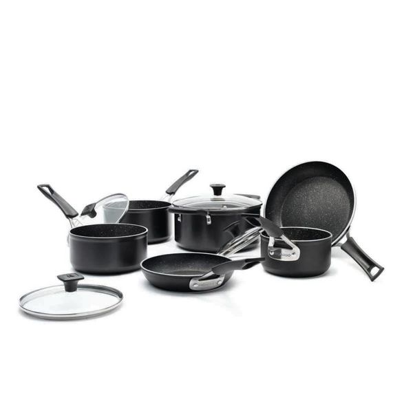 Ricardo 10-Piece Cookware Set by The Rock