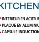 Cool Kitchen Pro Marmite de 26 cm / 9 L avec couvercle  Cool Kitchen PRO