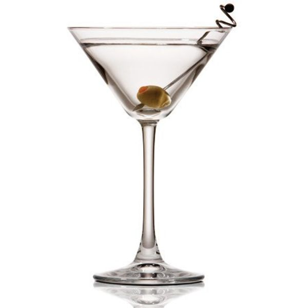 "Set of 4 ""Westbury"" Martini Glasses 220ml"