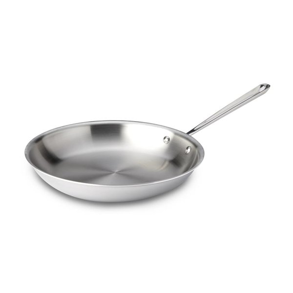 """ALL-CLAD d3 STAINLESS 12"""" Fry Pan"""