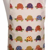 Tablier en coton laminé ajustable pour enfant (Motif tortue) de Danica