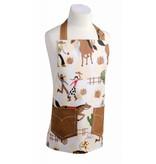Now Designs Tablier en coton laminé ajustable pour enfant (Motif cowboy) de Danica