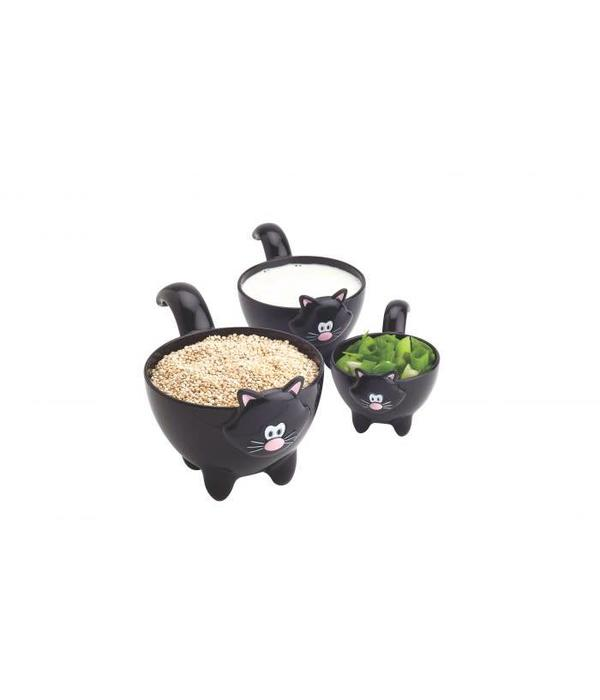 """Joie """"Meow"""" 3pc Measuring Cup Set"""
