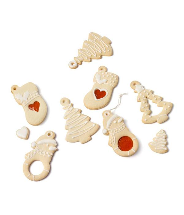 Ricardo Ricardo Set of 3 Reversible Christmas Cookie Cutters