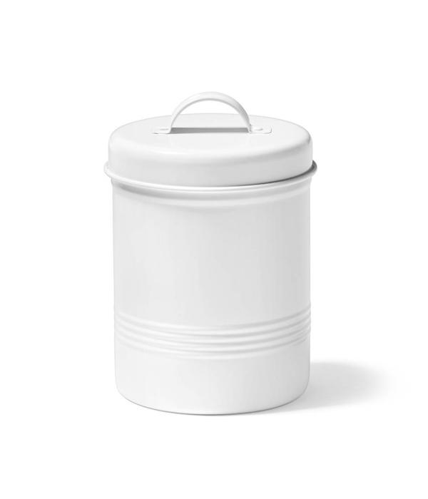Ricardo Ricardo 3 Litres White Metal Food Container