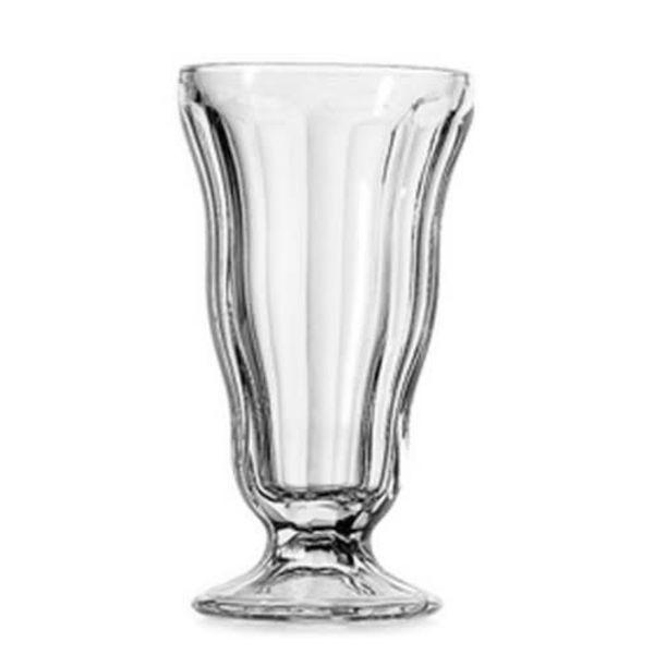 12oz Anchor Hocking Clear Crystal Soda-Fountain Glass
