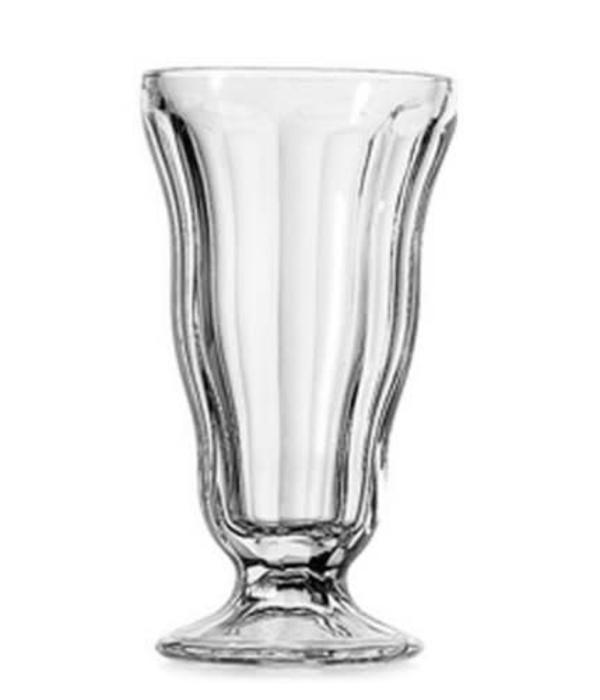 12oz Anchor Hocking Clear Crystal Soda-Fountain Glass