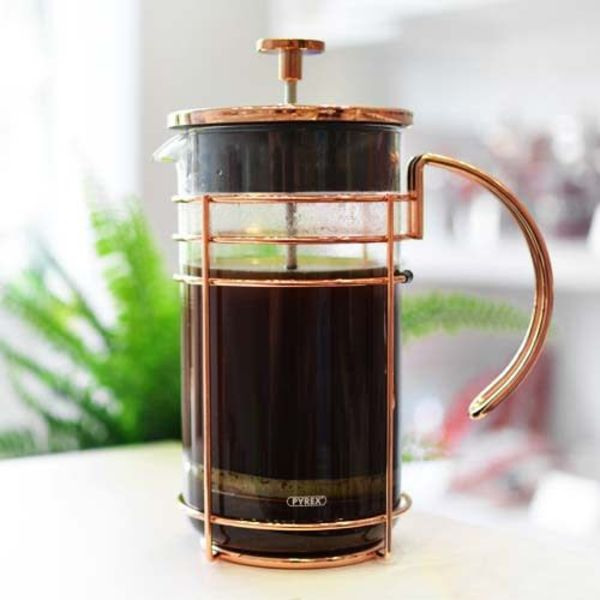 MADRID Rose Gold French Press 1L / 34oz by GROSCHE