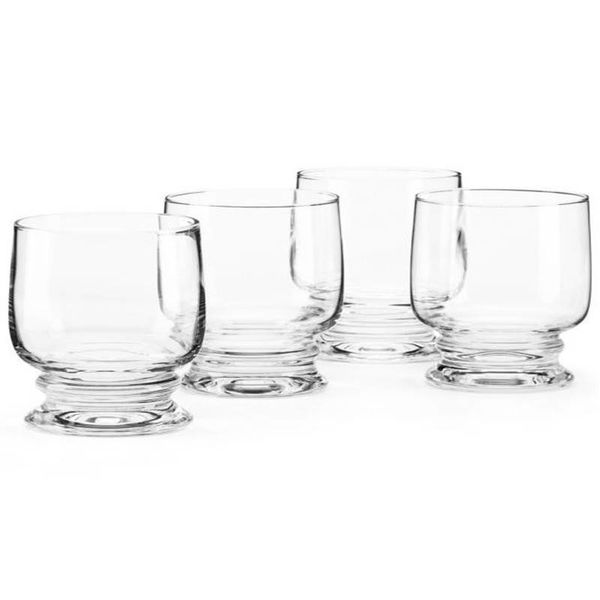 Dansk Suvi Set of 4 Double Old Fashioned Glasses