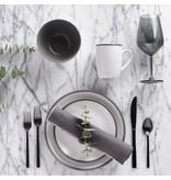 Ensemble à vaisselle 16mcx en porcelaine Gris/Blanc H2K