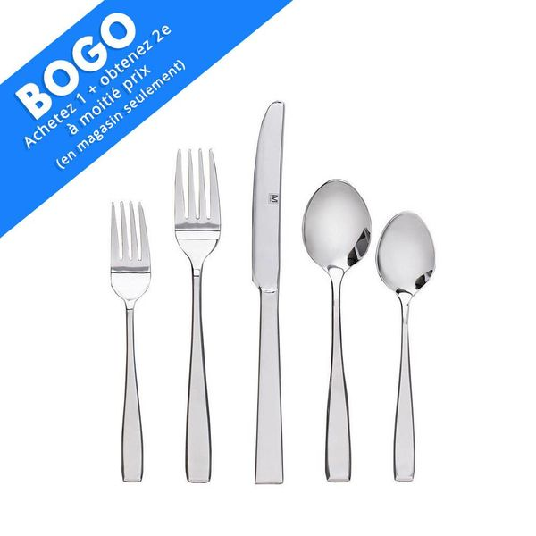 """Nice"" Stainless Steel 20pc Flatware Set"