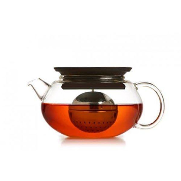 Jasmine 600ml Black Teapot by Brilliant