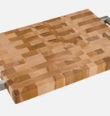 """Planches Labell Planche à découper et servir 10 x 14 x 1.25"""" avec prises en acier inox de Planches Labell"""
