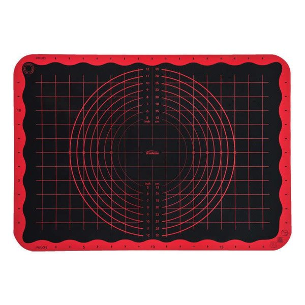 Trudeau Pastry Mat, Coral