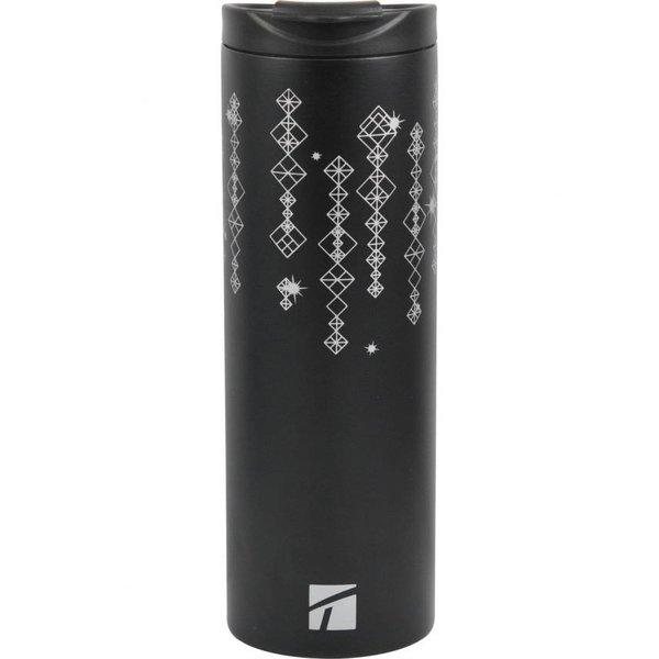 Trudeau Black Sleek SS Vac Tumbler 15oz