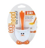 "Joie ""Egg Head"" Egg Cup and Spoon"