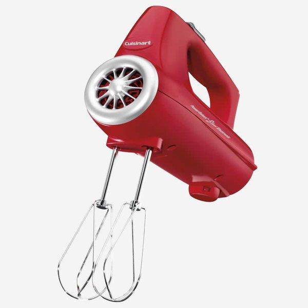 Batteur à main 3 vitesses 220W rouge de Cuisinart