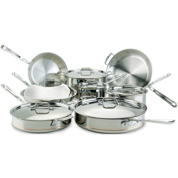 All-Clad Copper Core 5-Ply 14pc Cookware Set