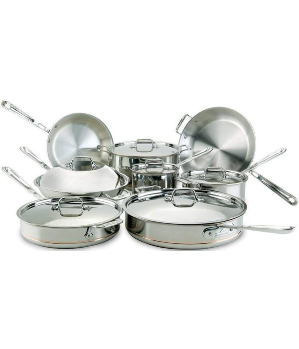 All-Clad All-Clad Copper Core 5-Ply 14pc Cookware Set