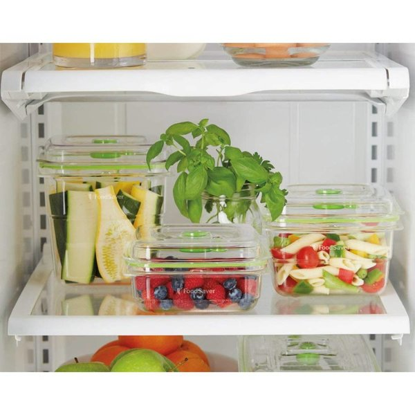 FoodSaver Fresh Container, 3-Piece Bundle, Clear
