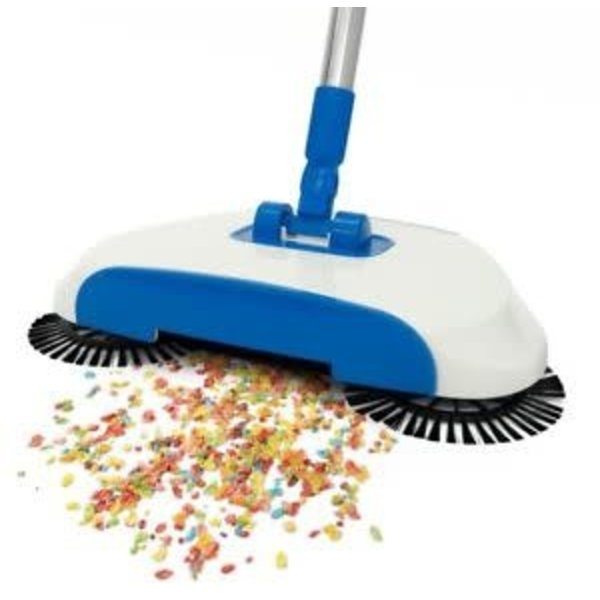 Insta Sweep The Amazing 3 Way Cordless and Hard Surface Spin Sweeper - As Seen on TV!