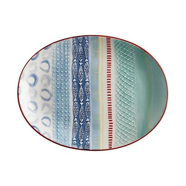 Maxwell & Williams Laguna Oval Platter 35x27cm