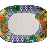 Maxwell & Williams Maxwell & Williams Positano Oblong Platter 40x28cm Citrone