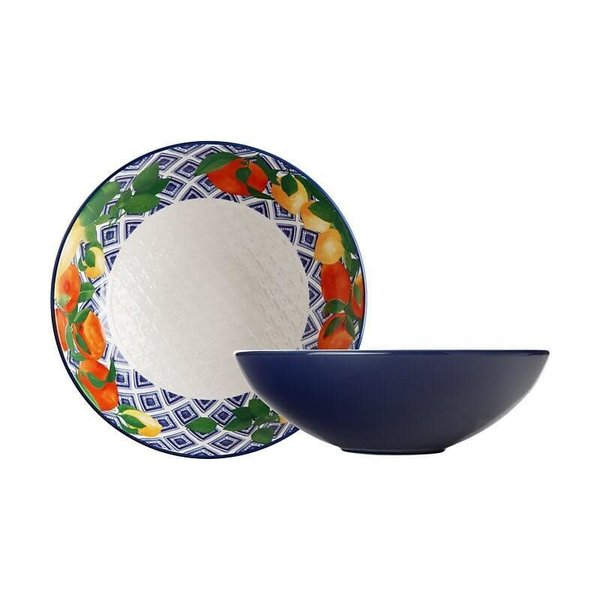 Maxwell & Williams Positano Round Bowl 31cm Citrone