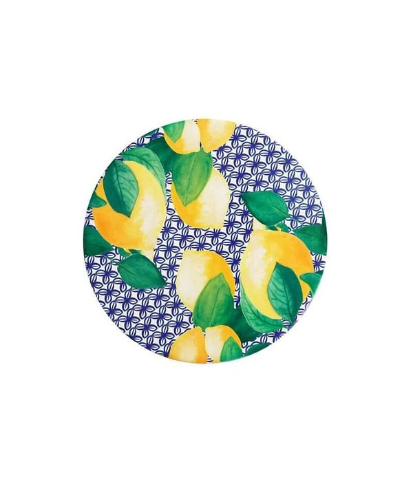 Maxwell & Williams Maxwell & Williams Positano Ceramic Round Tile Trivet 20cm Limone