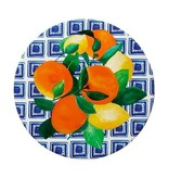 Maxwell & Williams Maxwell & Williams Positano Ceramic Round Tile Trivet 20cm Limone